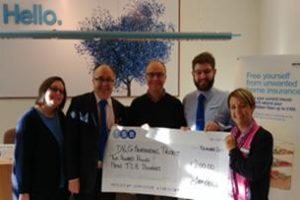 TSB Staff Donation