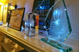 QAVS Award, QiB Excellence Award, D&G Life Award and Third Sector VOSCAR Award
