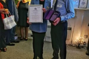 Queen's Award For Voluntary Service Celebration, Fiona Armstrong and Alex Dickson