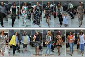 Highlights from M&Co Fashion Show Fund Raiser, Befrienders Models collage