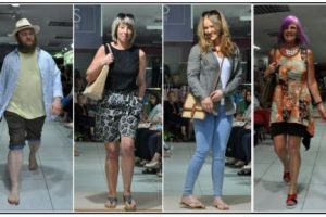 Highlights from M&Co Fashion Show Fund Raiser, Befrienders Models casual wear collage