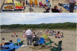 Collection of images from D&G Befriendings Brighouse Bay, beach Outing. July 19